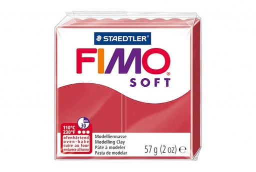 Pasta Fimo Soft 56 gr. Ciliegia Col.26