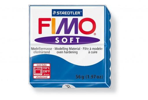 Pasta Fimo Soft 56 gr. Blu Pacifico Col.37
