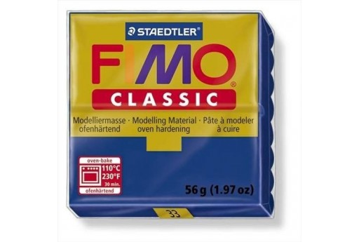 Fimo Classic Polymer Clay 56g Ultramarine Col.33