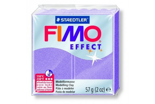 Fimo Effect Polymer Clay 57g Lilac Pearl