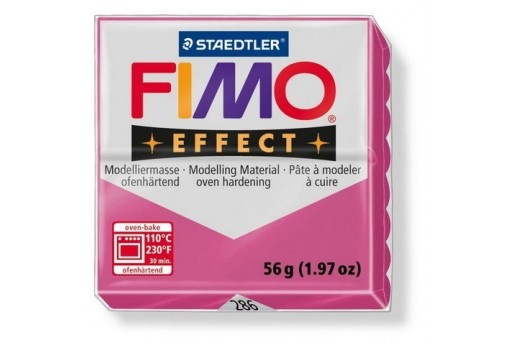 Fimo Effect Polymer Clay 56g Ruby Quartz Col.286