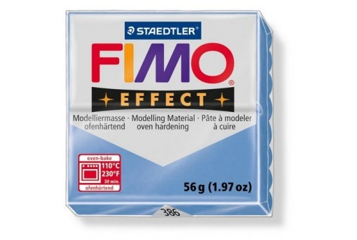 Fimo Effect Polymer Clay 56g Blue Agate Col.386