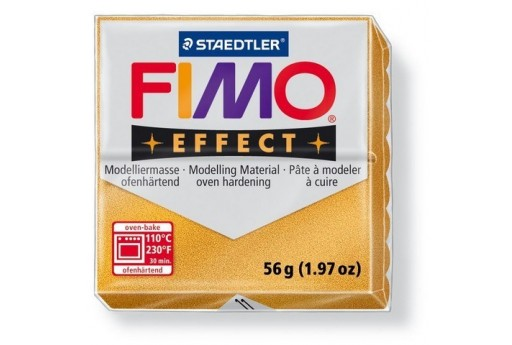 Fimo Effect Polymer Clay 56g Gold Col.11