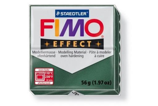 Pasta Fimo Effect 56 gr. Verde Opale Metallico Col.58