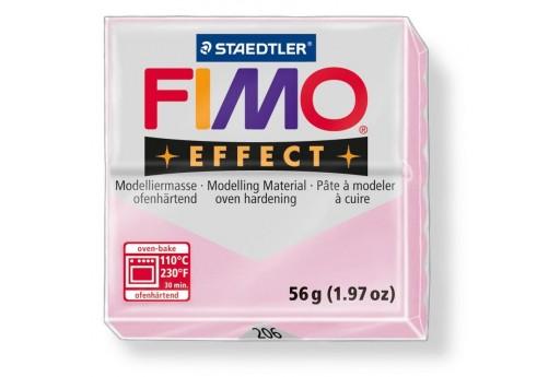 Pasta Fimo Effect 56 gr. Rosa Quarzo Col.206