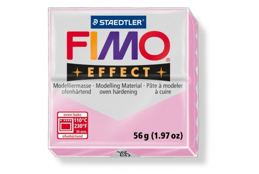 Fimo Effect Polymer Clay 56g Light Pink Col.205