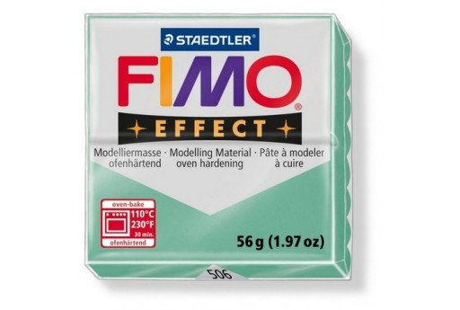 Fimo Effect Polymer Clay 56g Gemstone Colour Jade Green Col.506