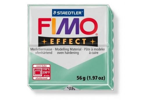 Pasta Fimo Effect 56 gr. Verde Giada Quarzo Col.506