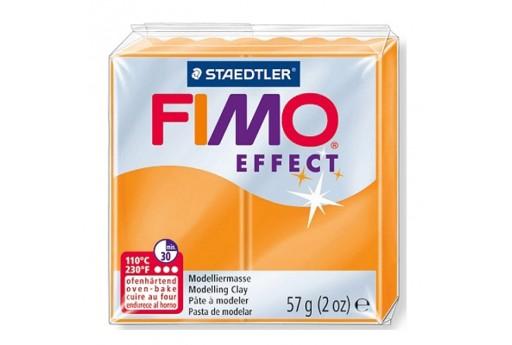 Pasta Fimo Effect 56 gr. Arancio Traslucido Col.404