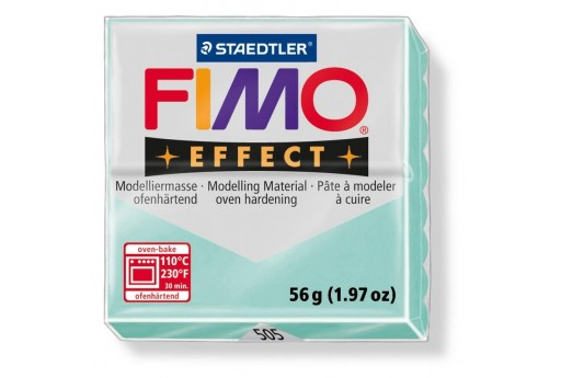 Pasta Fimo Effect 56 gr. Pastel Menta Col.505