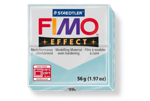 Fimo Effect Polymer Clay 56g Blue Ice Quartz Col.306