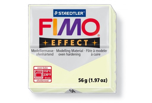 Pasta Fimo Effect 56 gr. Luminescente Col.04