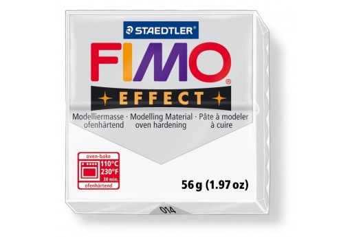 Fimo Effect Polymer Clay 56g Translucent Col.014