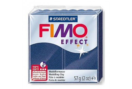 Fimo Effect Polymer Clay 56g Metallic Sapphir Blue Col.38