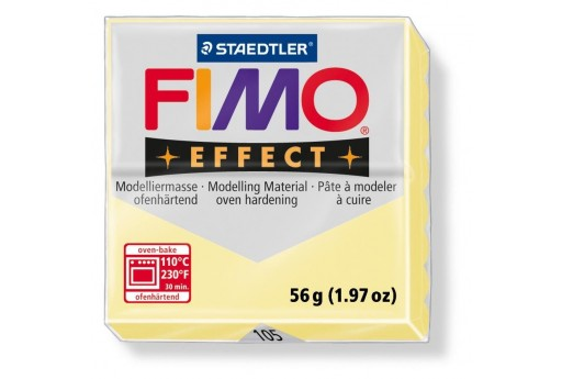 Fimo Effect Polymer Clay 56g Vanilla Col.105