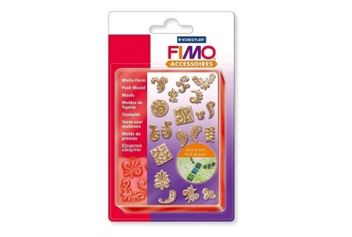 Fimo Push Moulds - Ornaments