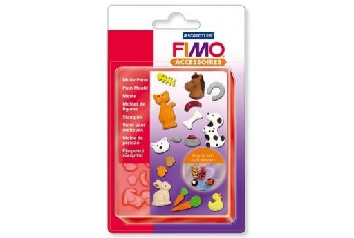 Fimo Stampo Push Animaletti