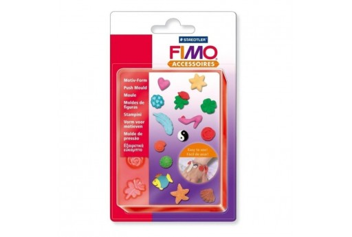 Fimo Push Moulds - Jewellery