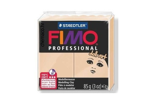 Pasta Fimo Professional Doll Art 85 gr. Sabbia Col.45