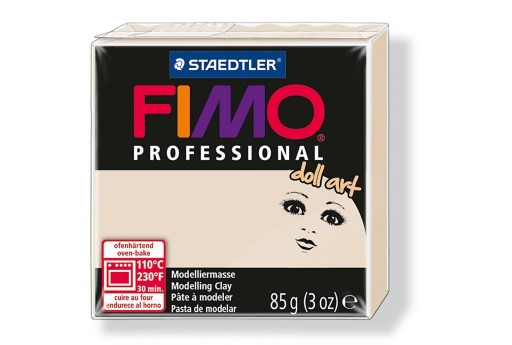 Pasta Fimo Professional Doll Art Beige 85gr Col.44