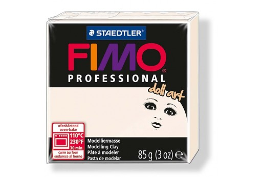 Pasta Fimo Professional Doll Art 85 gr. Porcellana Col.03
