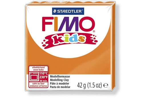 Fimo Kids Polymer Clay 42g Orange Col.4