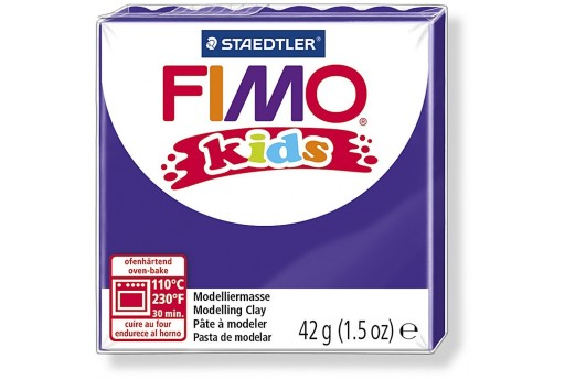 Pasta Fimo Kids 42 gr. Viola Col.6