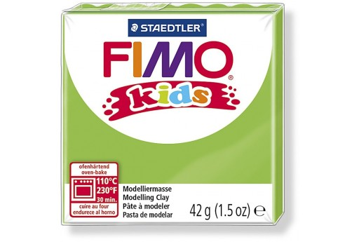 Fimo Kids Polymer Clay 42g Light Green Col.51