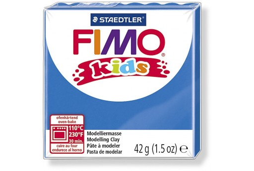Fimo Kids Polymer Clay 42g Blue Col.3