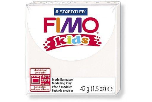 Fimo Kids Polymer Clay 42g White Col.0