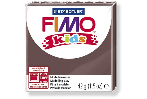 Pasta Fimo Kids 42 gr. Marrone Col.7
