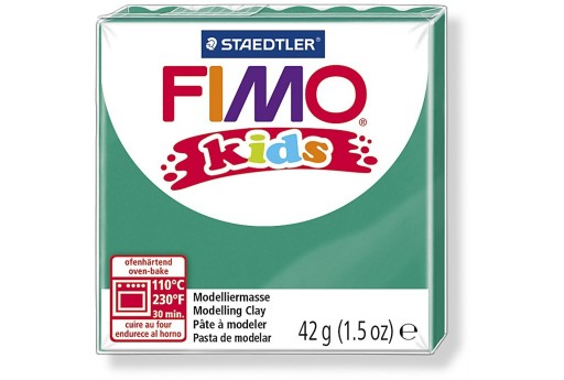 Fimo Kids Polymer Clay 42g Green Col.5
