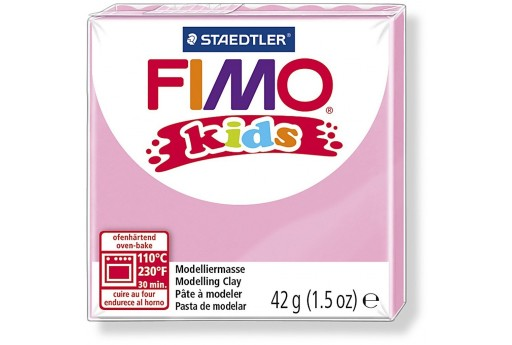 Fimo Kids Polymer Clay 42g Rose Col.25