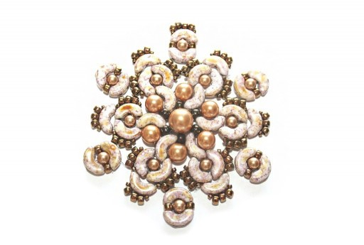 Kit Pendente Rigel Arcos par Puca Rose Gold