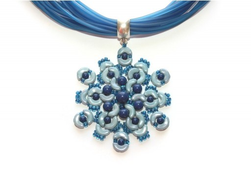 Pendant Rigel Arcos par Puca Opaque Blue Kit