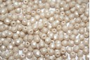 Perline Mezzi Cristalli Powdery Beige 3mm - 60pz