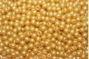 Tondi Vetro di Boemia Powdery Yellow 3mm - 100pz