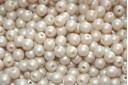 Czech Round Beads Powdery Beige 4mm - 100pcs