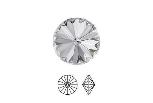 Rivoli Swarovski 12mm Crystal