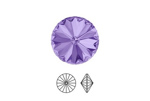 Swarovski Rivoli 14mm 2pcs Tanzanite 1122