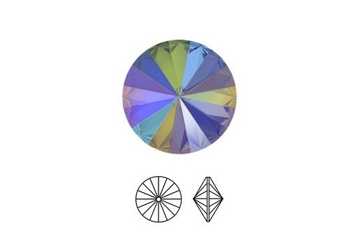 Rivoli Swarovski Crystal Paradise Shine 1122 14mm - 2pz