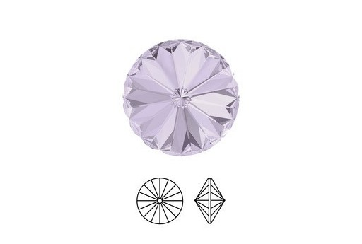 Swarovski Rivoli 14mm 2pcs Smoky Mauve 1122