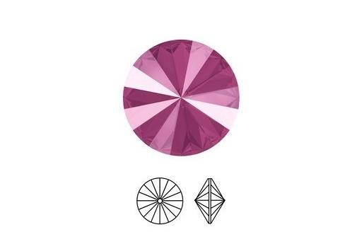 Swarovski Rivoli Round Stone Peony Pink 1122 14mm - 2pcs