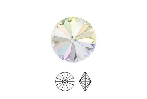 Rivoli Swarovski Crystal AB 1122 18mm
