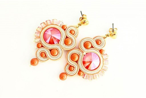 Soutache Earrings Sunrise Kit by Arianna Bruzzi