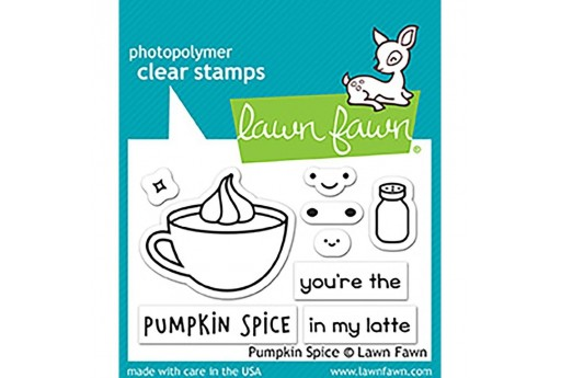 Clear Stamps Pumpkin Spice - Lawn Fawn