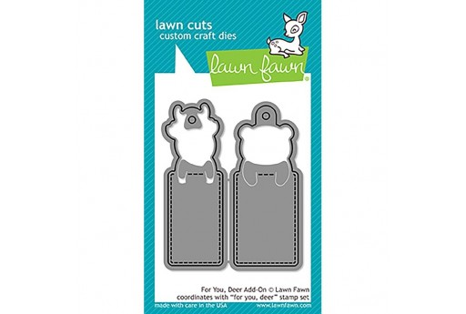 Cutting Dies For You Deer Add-On - Lawn Fawn