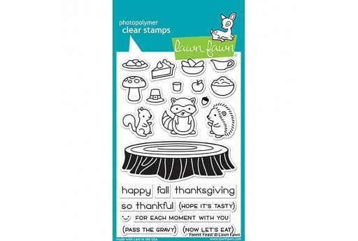 Clear Stamps Forest Feast - Lawn Fawn