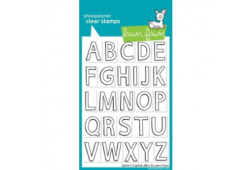 Clear Stamps Quinn's Capital ABCs - Lawn Fawn
