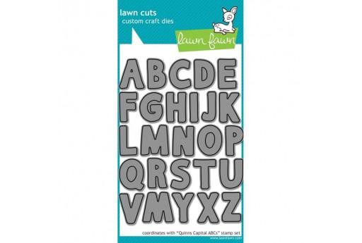 Fustelle per timbri Alfabeto Quinn's Capital ABCs - Lawn Fawn